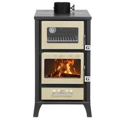 Small Wood Cookstoves for Tiny Spaces | Tiny Wood Stove                                                                                                                                                     More