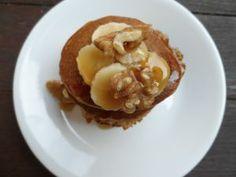 Dexter's oat and banana pancakes