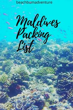 Maldives packing list and guide. Essential items to bring to the Maldives on holiday. Vacation on Maldives islands and tropical paradise what to take and what to pack Maldives Vacation, Italy Vacation, Asia Travel, Travel Usa, Vacation Packing, Travel Packing, Vacation Ideas, Polynesian Islands, Romantic Vacations