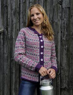 Bærplukkekofta av Nina Granlund Sæther