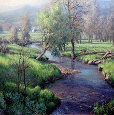 Michael Godfrey landscape oil paintings - Page 3