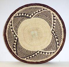 "Binga Basket 30cm(12"") - African Basket, African Wall Baskets - ZB1765 – Huckleberry"