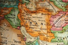 Image result for antique iran map