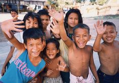Cambodia! The kids there are ABSOLUTELY beautiful and they LOVE the camera! :)