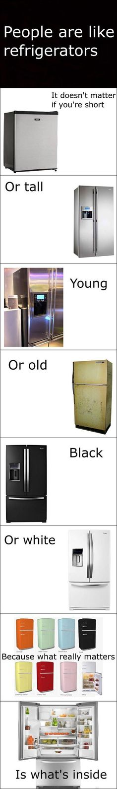 People Are Like Refrigerators