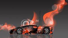 4K Ferrari F80 Side Super Abstract Aerography Car 2015 « El Tony