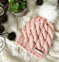 8b1d3b93f06 Ravelry  Gimme All The Cables Toque pattern by Andrea Kemper Knitting  Basics