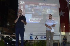 Bulancak Belediye Başkanı Recep Yakar Milli İrade nöbetlerinin 23. Gecesinde halka seslendi. İlk geceden beri Bulancak halkını…