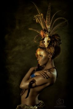 An ongoing collaborative project between Alf Caruana, Jacqueline Kalab and I of our interpretation of tribal portraits using various pieces of my work. Africa Fashion, Tribal Makeup, Mystique, Portraits, Body Makeup, Tribal Fusion, Fantasy Makeup, Archetypes, Editorial Photography