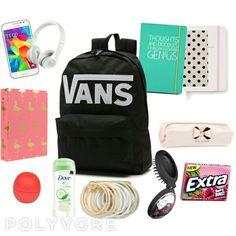My own school essentials: whats in my schoolbag?