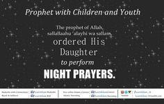 Ordered to perform night prayers Night Prayer, Hadith, Islamic, Prayers, Believe, Religion, Youth, Knowledge, Daughter