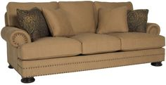 Bernhardt | Foster Sofa (T5177)  I think this is what we're getting...not sure about the nailheads