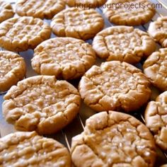 Peanut Butter Cookies by happyhourprojects