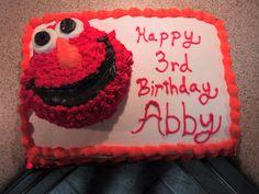 Yes, it's 3d Elmo.