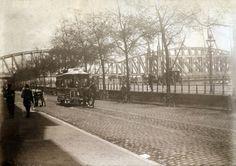 RTM paardentram op de Boompjes. rond 1900