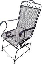 Home Decor Krzesło Metalowe Siatkowane 143 - zdjęcie 1
