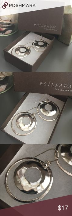 Brand New Silpada silver dangle earrings! Brand New Silpada silver dangle earrings! Silpada Jewelry Earrings