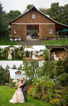 The Schilling Barn In Salem Oregon Oregon Wedding