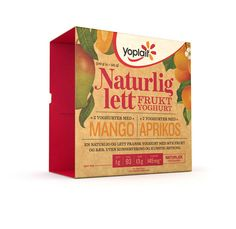 Packaging of the World: Creative Package Design Archive and Gallery: Yoplait Naturlig Lett