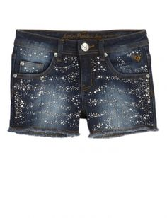 This Is A Very Cute Embellished Denim Shorts