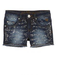 Embellished Denim Shorts sz7