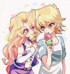 Mai and Joey
