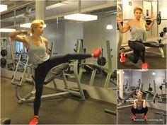 Lass deine Beine brennen – 3 Übungen – Bild und Video.