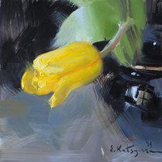 "Daily Paintworks - ""Awakening"" - Original Fine Art for Sale - © Elena Katsyura"