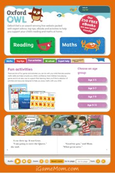 A free website with tons of free eBooks, math games, learning activities, and printables. A must visit site for children age 3 to Coolest part: it's British, so exposure to British accents and spellings. Maybe my daughter will pick up a British accent. Learning Websites, Kids Learning Activities, Fun Learning, School Websites, Fun Math, Math Games, Childhood Education, Kids Education, Teaching Tips