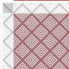 draft image: Page 149, Figure 12, Donat, Franz Large Book of Textile Patterns, 16S, 16T