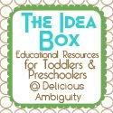 The Idea Box linky party - every month there is a new educational theme that people link up ideas to