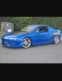Honda Del Sol with Acura front end.
