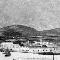 Kowloon wharves & Whitfield Barracks