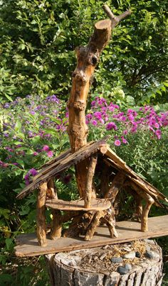Unique garden home or fairy house titled The by HopesGardenGifts