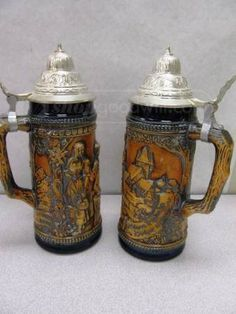 shopgoodwill.com: Pair of Gerz Beer Steins Made in West Germany