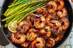 Blackened Shrimp Recipe with Asparagus in 20-Minute – Blackened Shrimp Recipe — Eatwell101