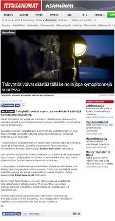 HSY:n Ilmastoinfo halusi nostaa esiin kampanjallaan, että taloyhtiöt voisivat säästää kymmeniä tuhansia euroja vaihtamalla valaistuksensa LED-valaisimiin. Juttu Iltasanomissa 8.10.2014