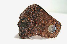 Badass Swarovski Rings: Garni S/S '09 Deco Skull Ring for Macabre Bling