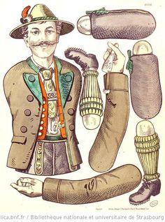 Pantins à découper (TR) : Planches n. 1182, 1192, 1426, 1434, 1642, 1643, 1674 - 1