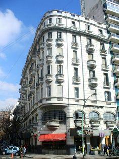 Santa Fe y Gurruchaga, Buenos Aires arquitecture