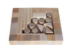 Natural Wooden Blocks 44 details Handmade Wooden от AndrGreen