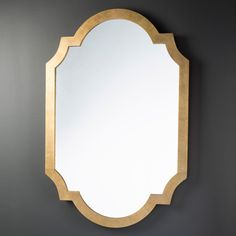 "What about this mirror instead as it is taller. 30"" w by 45"" tall We can flank with narrow mirrors or candle sconces  Surya Richmond Mirror @LaylaGrayce"