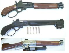 Tactical lever guns (various sources)