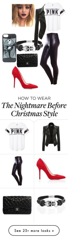 """""""Untitled #90"""" by bettyboopbae2k21 on Polyvore featuring Bling Jewelry, Victoria's Secret PINK, Tamara Mellon and Chanel"""