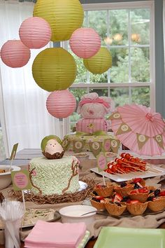 baby shower decor from a party my talented friend threw