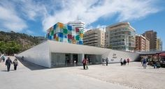 A branch of the Centre Pompidou opened in Málaga, Spain in 2015