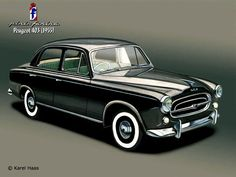 1955-1966 PEUGEOT 403 SALOON - designed by Carrozzeria Pinin Farina of Turin.