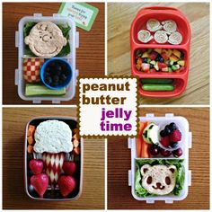different ways to jazz up your pb&j! http://www.howaboutcookie.com
