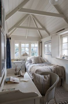 Luxury self-catering beach cottage in Crantock north Cornwall coast Small Bedroom Ideas beach Coast Cornwall cottage Crantock Luxury North selfcatering House Design, House Interior, House, Cottage Interiors, Home, Beach House Interior, Beach Cottage Style, Bedroom Design, Small Bedroom