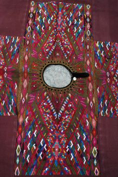 Authentic Quiche Mayan Textile: CHICHICASTENANGO  HUIPIL 3F, Guatemalan Backstrap Weave via Etsy
